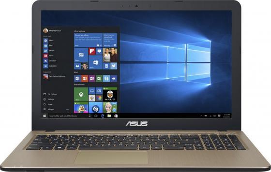 Ноутбук ASUS R540SA-XX587T 15.6 1366x768 Intel Celeron-N3060 500 Gb 2Gb Intel HD Graphics 400 коричневый Windows 10 Home 90NB0B31-M15980 ноутбук asus f553sa xx305t 15 6 1366x768 intel celeron n3050 500gb 2gb intel hd graphics черный windows 10 home 90nb0ac1 m06000