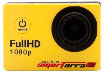 Экшн-камера Smarterra B9 желтый экшн камера smarterra w4 желтый
