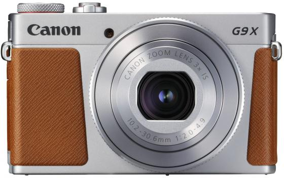 Фотоаппарат Canon PowerShot G9 X Mark II 20.2Mp 3xZoom серебристый 1718C002