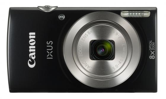 Фотоаппарат Canon Ixus 185 20Mp 8xZoom черный 1803C001