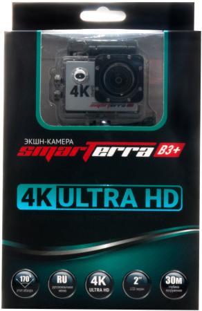 Экшн-камера Smarterra B3+ серебристый кейс smarterra camera keeper m size для экшн камер [cc002b]