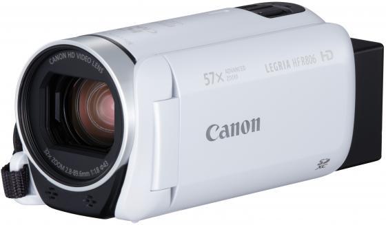 Цифровая видеокамера Canon Legria HF R806 белый стоимость