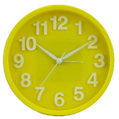 Будильник Вега Хорошее настроение жёлтый будильник вега б1 047