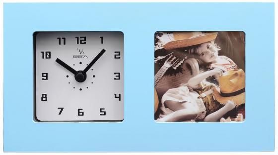 Часы-фоторамка Вега 6409 голубой