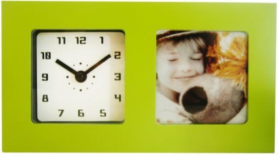 Часы-фоторамка Вега 6409 зелёный