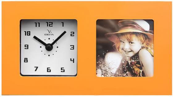 Часы настольные Вега 6409 оранжевый