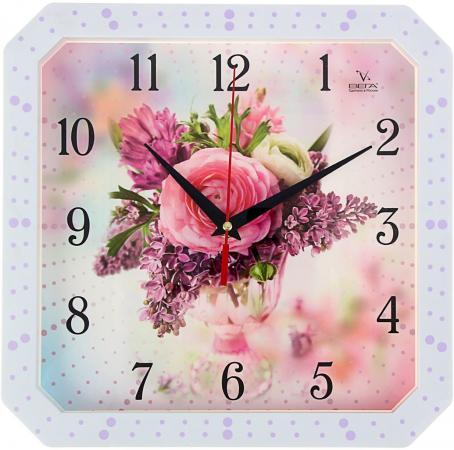Часы настенные Вега П4-7134-7-75 разноцветный рисунок часы вега п4 14 7 86 новогодние подарки разноцветный
