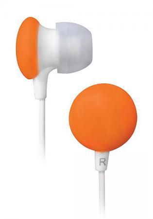 Наушники BBK EP-1170S белый/оранжевый телефон bbk bkt 105 ru зеленый