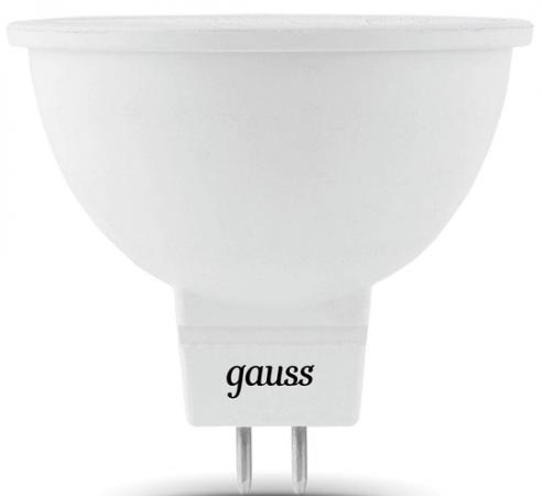 Лампа светодиодная GU5.3 7W 4100K полусфера матовая 101505207 elektrostandard лампа светодиодная elektrostandard полусфера матовая e14 7w 3300k 4690389088087