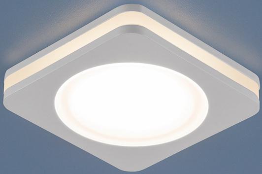 Встраиваемый светодиодный светильник Elektrostandard DSK80 5W 3300K 4690389055089 кольцо из серебра r drgr00910 sp