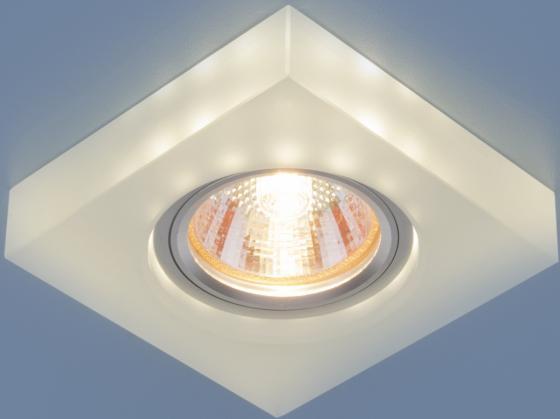 Встраиваемый светильник Elektrostandard 6063 MR16 WH белый 4690389068607 кордщетка kwb 6063 10