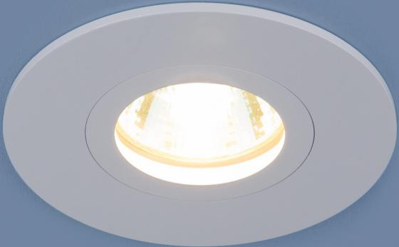 Встраиваемый светильник Elektrostandard 2100 MR16 WH белый 4690389064135 встраиваемый светильник elektrostandard 2008 mr16 wh белый 4690389066405