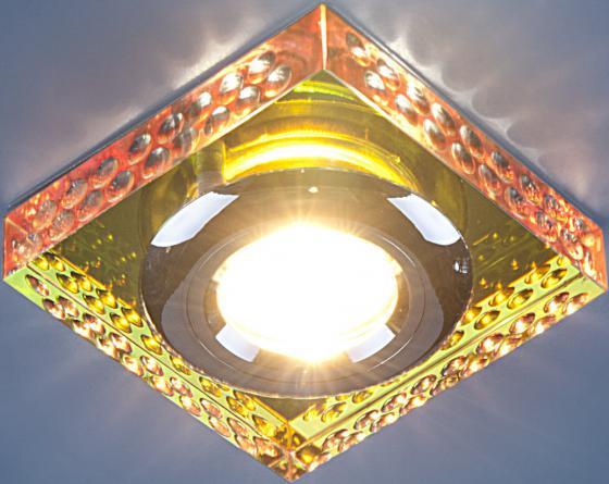Встраиваемый светильник Elektrostandard 1058 зеркальный/мульти (Clear/Multi) 4690389012815 elektrostandard встраиваемый светильник с двойной подсветкой elektrostandard n4 s g4 multi мульти 4690389003189
