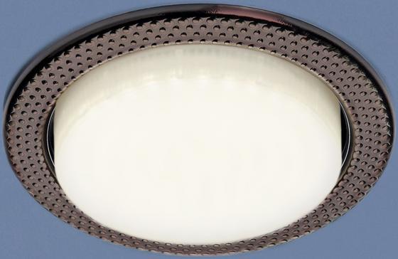 Встраиваемый светильник Elektrostandard 1066 GX53 SB бронза 4690389078705 встраиваемый светильник elektrostandard 1066 gx53 ch хром 4690389078682