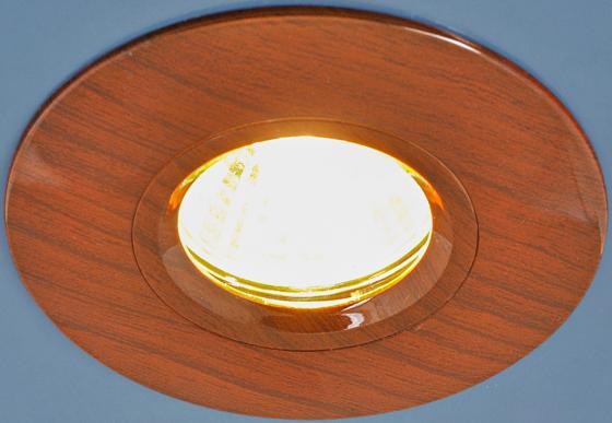 Встраиваемый светильник Elektrostandard 108 MR16 VNG венге 4690389081842 встраиваемый светильник elektrostandard 108 mr16 bg беленый дуб 4690389081866