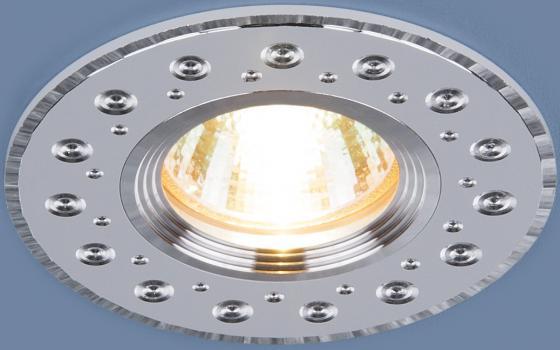 Встраиваемый светильник Elektrostandard 2008 MR16 WH белый 4690389066405 2008