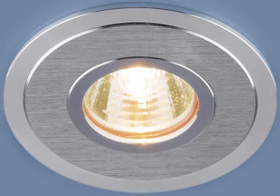 Встраиваемый светильник Elektrostandard 2016 MR16 SCH сатин хром 4690389064159