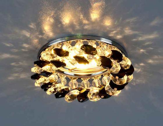 где купить Встраиваемый светильник Elektrostandard 206 MR16 CH/BK/CL хром/черный/прозрачный 4690389029547 по лучшей цене