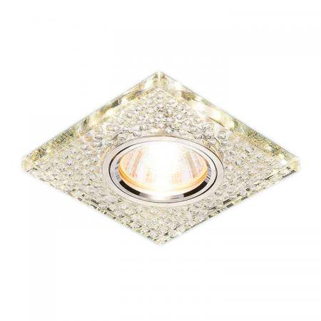 Встраиваемый светильник Elektrostandard 2150 MR16 SL зеркальный/серебро 4690389073304 встраиваемый светильник elektrostandard 2150 mr16 sl зеркальный серебро 4690389073304
