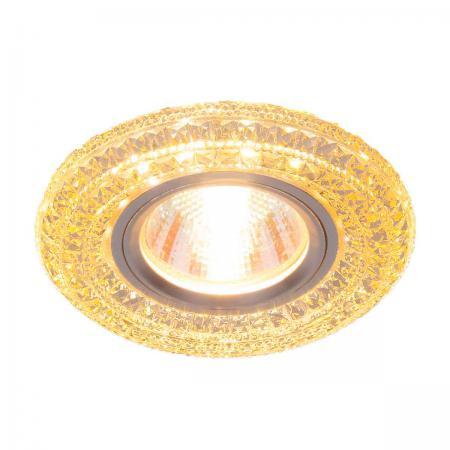 Встраиваемый светильник Elektrostandard 2160 MR16 GС тонированный 4690389074066