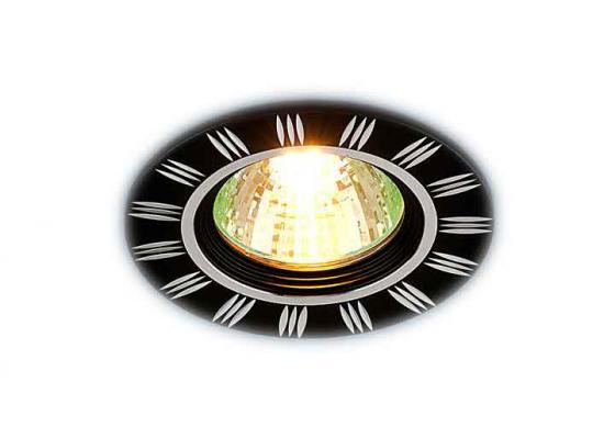 где купить Встраиваемый светильник Elektrostandard 5814 MR16 BK/CH черный/хром 4690389009143 по лучшей цене