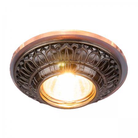 Встраиваемый светильник Elektrostandard 6024 MR16 SB бронза 4690389056635