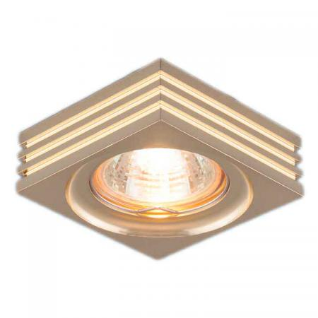 Встраиваемый светильник Elektrostandard 6064 MR16 GD золото 4690389055652 edcgear outdoor portable 6064 aluminum alloy pen w keyring refill black