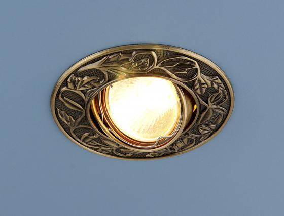 цены Встраиваемый светильник Elektrostandard 711 MR16 SB бронза 4607138144253