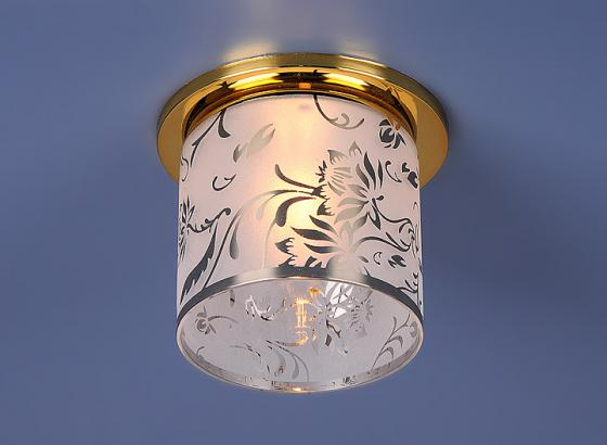 Встраиваемый светильник Elektrostandard 8070D G9 золото (Gold) 4690389012921 elektrostandard лампа светодиодная elektrostandard свеча на ветру сdw led d 6w 3300k e14 4690389085505