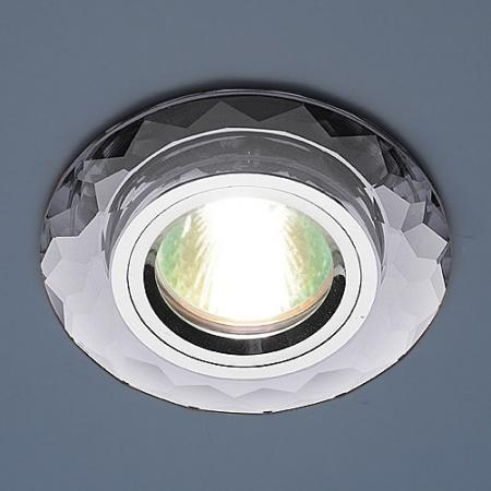 Фото - Встраиваемый светильник Elektrostandard 8150 MR16 SL зеркальный/серебро 4690389004339 cветильник галогенный de fran встраиваемый 1х50вт mr16 ip20 зел античное золото