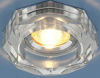Встраиваемый светильник Elektrostandard 9120 MR16 SL серебряный 4690389000232 9120 r