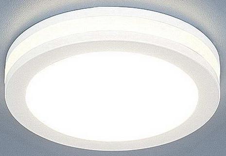 Встраиваемый светодиодный светильник Elektrostandard DSKR80 5W 3300K 4690389056703 лампочка elektrostandard свеча cd f e14 5w 3300k