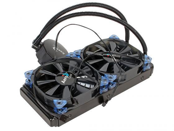 Водяное охлаждение Aerocool Likai 240 Socket 775/1150/1151/1155/1156/1356/1366/2011/2011-3/AM2/AM2+/AM3/AM3+/FM1/FM2/FM2+ водяное охлаждение cooler master masterliquid pro 120 mly d12x a20mb r1 intel lga2011 3 2011 1366 1156 1155 1151 1150 775 amd fm2 fm2 fm1 am3 am3 am2 am2