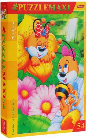 Пазл 54 элемента Hatber Пчелки 54ПЗ3_00206 пазл hatber doodle art lion 340x460mm 500пз2 16013