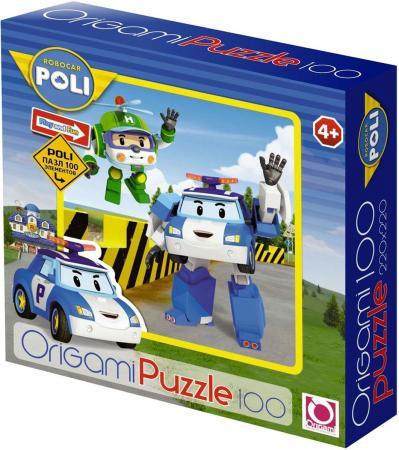 Пазл 100 элементов ОРИГАМИ Robocar 05898 пазл origami 05897 robocar 100 эл