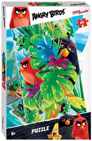 Пазл 160 элементов Step Puzzle Angry Birds