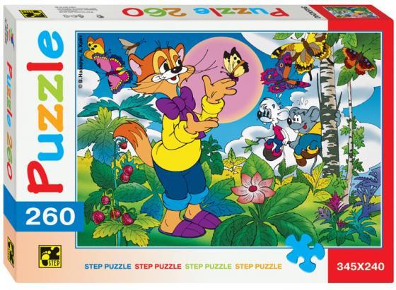Пазл 260 элементов Step Puzzle Кот Леопольд 74019 пазл step puzzle принцесса софия disney 60 элементов