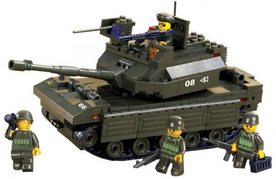 Конструктор SLUBAN Армия - Танк 312 элементов M38-B6500