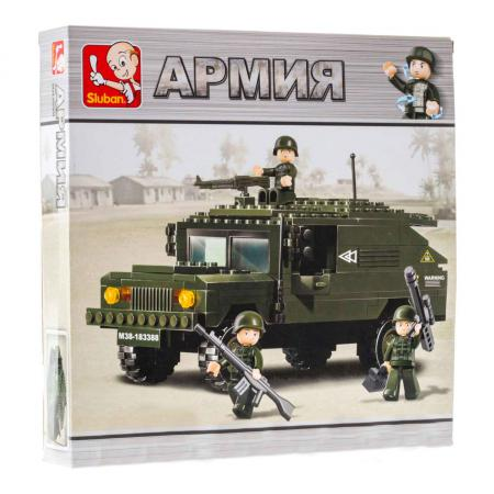 Конструктор SLUBAN Армия 191 элемент M38-B9900 конструктор sluban формула 1 m38 b0353