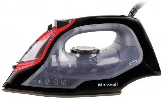 Утюг Maxwell MW-3034(BK) 2400Вт чёрный прозрачный maxwell mw 1443