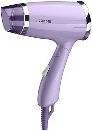 Фен Lumme LU-1042 1400Вт лиловый аметист фен lumme lu 1043 1400вт фиолетовый чароит
