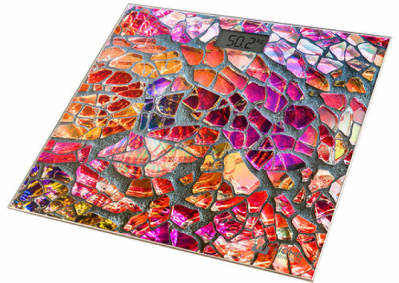Весы напольные HOME ELEMENT HE-SC906 мозайка цена