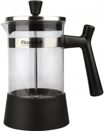 Френч-пресс Rondell Wonder RDS-426 чёрный 0.6 л пластик/стекло френч пресс rondell wonder rds 426 чёрный 0 6 л пластик стекло