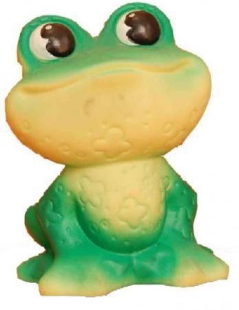 Резиновая игрушка для ванны Огонек Лягушка 11 см С-490