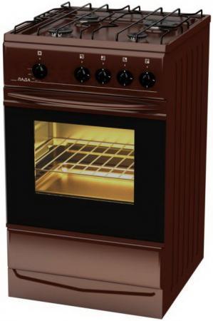 Газовая плита LADA PR 14.120-03 Br коричневый плита promo pr ec2202