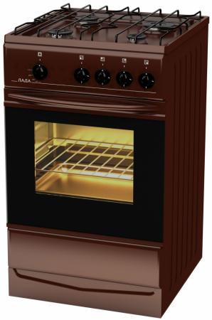 Газовая плита LADA Лада PR 14.120-04 Br коричневый лада pr 14 120 04 w