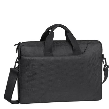 Сумка для ноутбука 15.6 Riva 8731 grey полиэстер темно-серый