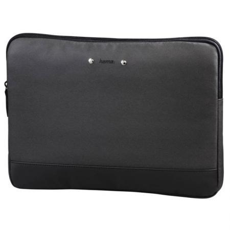 Чехол для ноутбука 15.6 HAMA Ultra Style полиуретан черный 101531 hama hardcase colour style 40g black чехол для фотокамеры