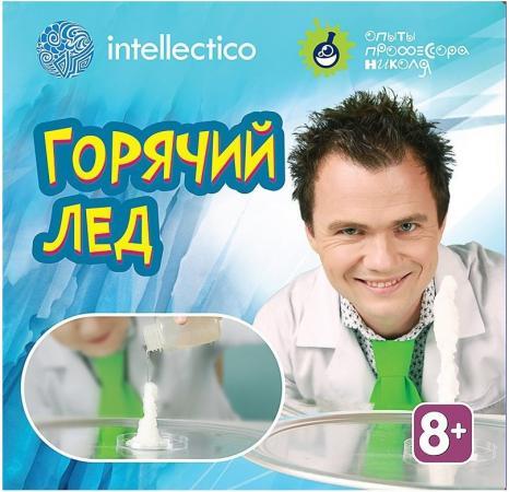 Набор для опытов INTELLECTICO с профессором Николя Горячий лёд 854 набор для создания духов intellectico апельсин mini