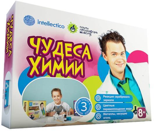 """Набор для опытов INTELLECTICO """"Опыты професора Николя"""" - Чудеса химии, 3 опыта 847"""